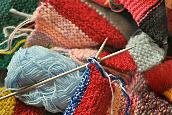 Knitting and Crochet Holiday 12th - 14th October 2018